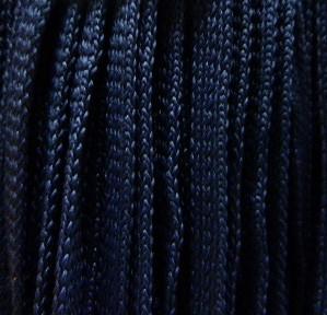 Шнур 34 Ф плоский 7 мм, рул-200м, темно-синий (75)