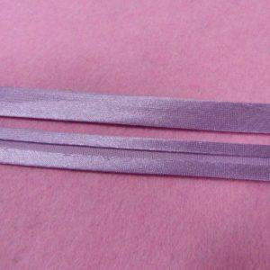 Косая бейка 15 мм № 193-ДС (сиреневый) 132м