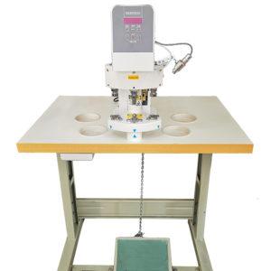 Пресс для установки фурнитуры, электрический, трехпозиционный TRIO T10-03 (комплект)