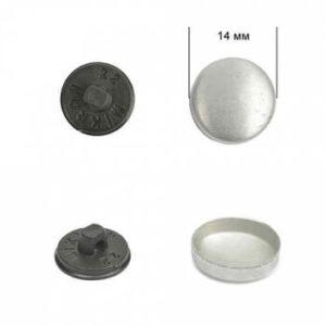 Заготовка №22 (14 мм), пластик, черный, уп-500 шт