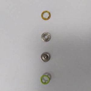 Кнопка рубашечная «Е-Е» 9,5мм салатовый (уп.1440) 013