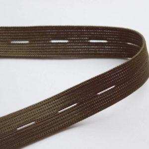 Резинка с перфорацией (1рул-25м) 20мм, хаки