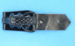 Крючки шубные ДС (кр.23х15мм, хл.25х11мм, к.11х7,5х2мм) (уп.100шт) темно-коричневый