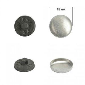 Заготовка №24 (15 мм), пластик, черный, уп-500 шт