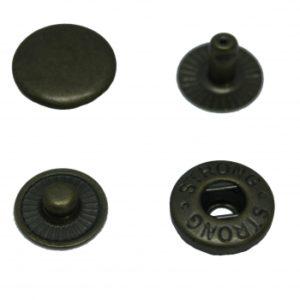 Кнопка рубашечная «Strong» ALFA 15мм  (уп. 720шт.) антик