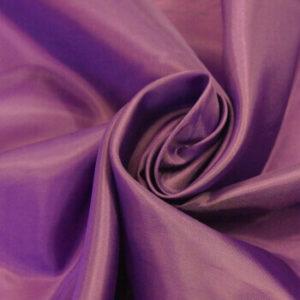 Ткань подкладочная 190Т, 100%ПЭ, 1107 баклажан (рул-100м)