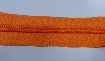 Рулонная молния спираль №5 17.50гр/м 200м/рул (157 оранжевый)