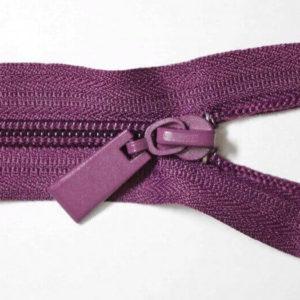 Молния спираль №5 45см Е-230 фиолетовый