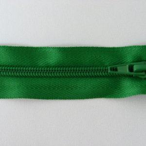 Молния спираль №5 45см зелень