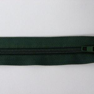 Молния спираль №5 60 см зелень