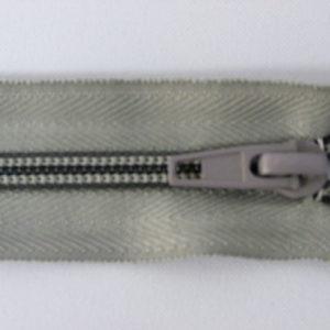 Молния спираль №5 40см ДС-350 светло-серый
