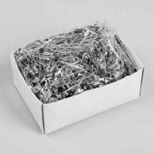 Булавки английские №3 500 шт/уп (никель)