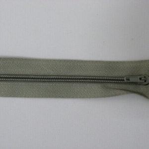 Молния юбочная 20 см №350 ДС светло-серый