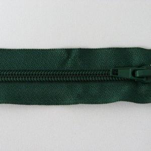 Молния спираль №5 55см темно-зеленый