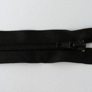 Молния спираль №5 75 см, «S», 322-черный