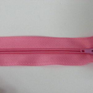 Молния юбочная 20 см №224 ДС розовый