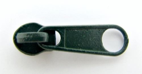 Бегунки к рул. молнии спираль №3 1000шт./упак. галантерейные (273 т.зеленый)