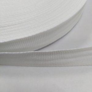 Лента репсовая 25мм (50м/рул) белая