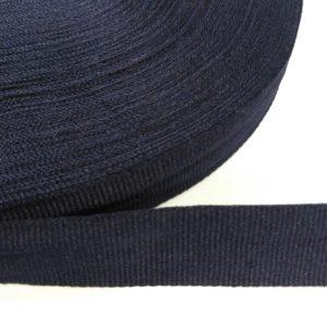Лента репсовая 25мм (50м/рул) темно-синий №26