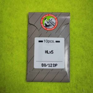 Игла ORGAN HLx5 №80 (10 шт/уп) для оверлока