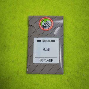 Игла ORGAN HLx5 №90 (10 шт/уп) для оверлока