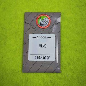 Игла ORGAN HLx5 №100 (10 шт/уп) для оверлока