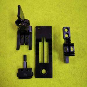 Комплект на двухигольную машину тройное продвижение JZ-12210 1/4″