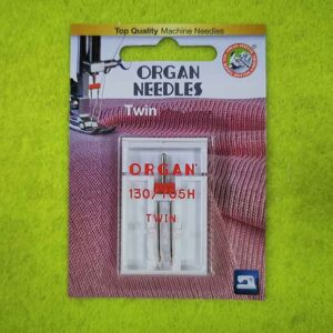 Игла ORGAN 130/705H TWIN Stretch/2.5 №75 (2 шт/уп)